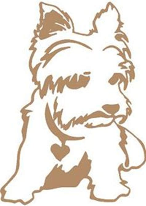 yorkie decal terrier yorkies for dogs scottie dogs and puppys