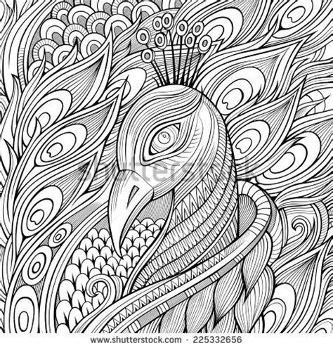 abstract paisley coloring pages 109 best images about peacocks art coloring on pinterest