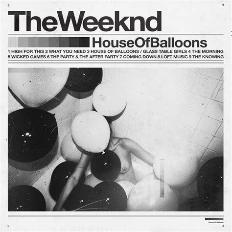 House Of Balloons The Weeknd crashing symbols crash thursday the weeknd house of balloons