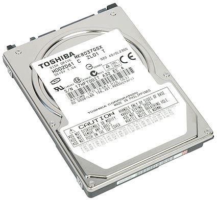 toshiba mk8037gsx 80 gb sata wd brings 250 gb hdds to notebooks