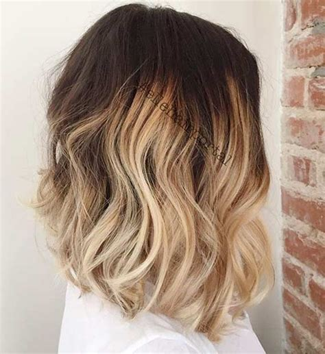 blonde ombres for medium lengths 31 best shoulder length bob hairstyles blonde ombre