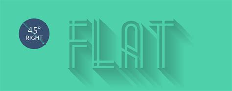 flat design font generator flat long shadows step by step tutorial resources and