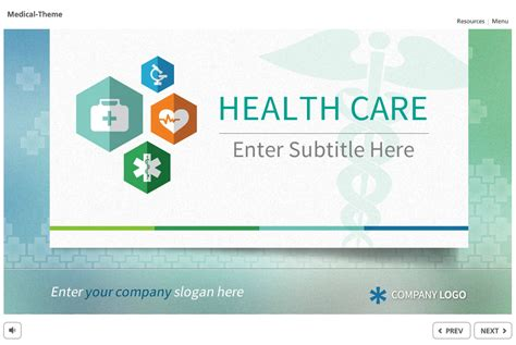captivate template medical theme 01 the elearning network
