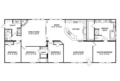 buccaneer mobile home floor plans buccaneer homes floor plans thefloors co