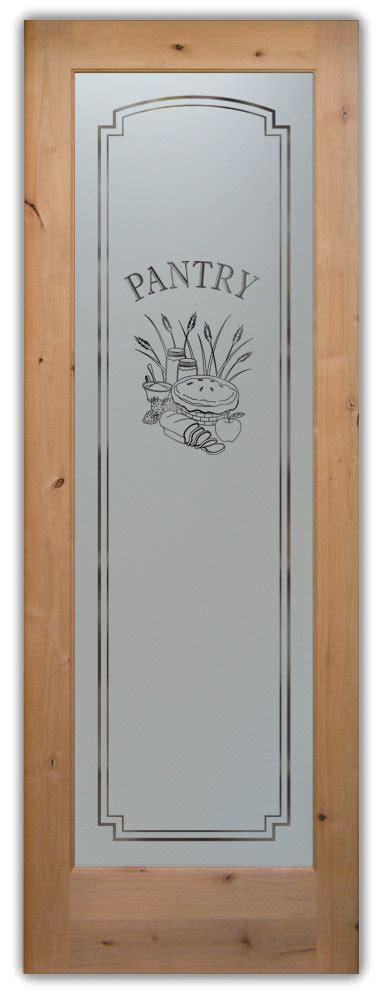 decorative glass pantry doors customize   door
