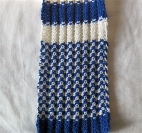 2x1 Scarf verdigris knits