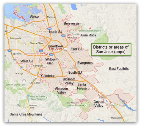 san jose safety map san jose an introduction valley of s delight