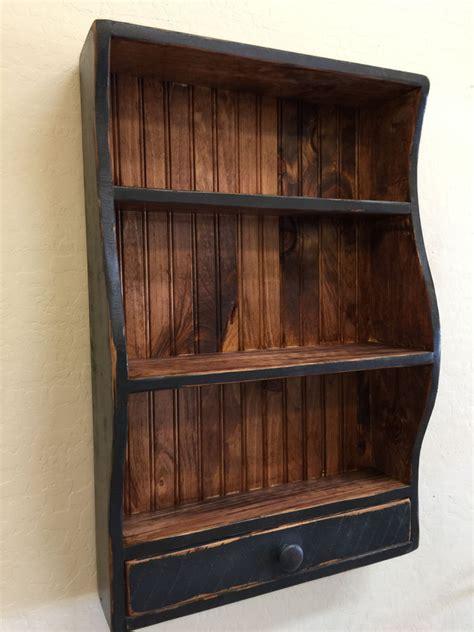 Shaker Wall Shelf by Shaker Wall Shelf Colonial Shelf Bead Board Shelf