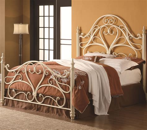 metal headboard footboard iron beds and headboards queen ornate metal headboard