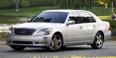 2004 lexus ls review, ratings, specs, prices, and photos