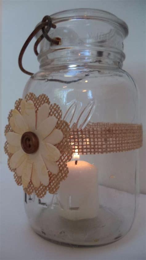 659 Best Rustic Country Wedding Mason Jar Centerpiece Rustic Candle Centerpieces