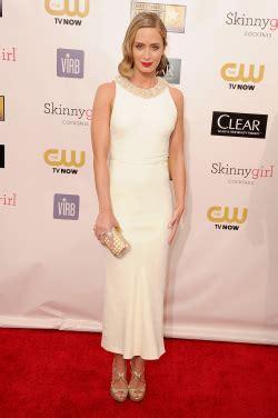 Demian Slit Peplum Dress Bs critics choice awards carpet trend glamorous gowns