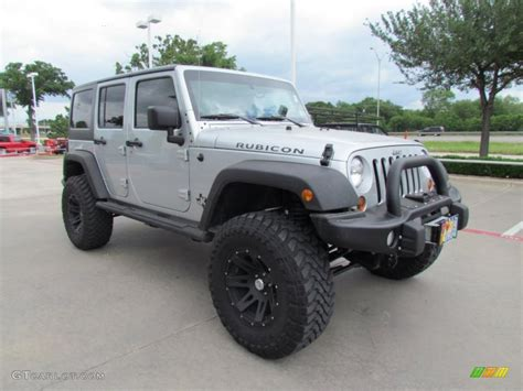silver jeep rubicon bright silver metallic 2011 jeep wrangler unlimited