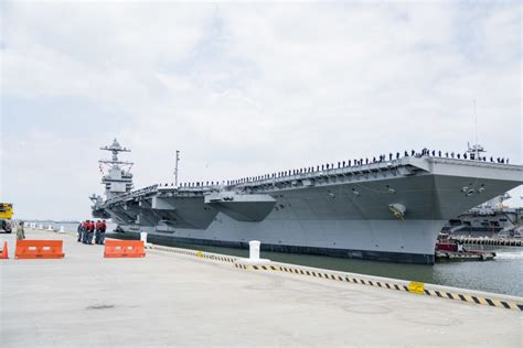 gerald r ford cvn 78 dvids images the future uss gerald r ford cvn 78