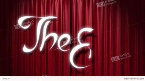 go on and close the curtains closing red curtain with a title quot the end quot stock animation