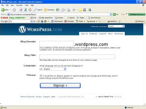 belajar membuat blog di wordpress cara buat blog di wordpress belajar buat blog bbb