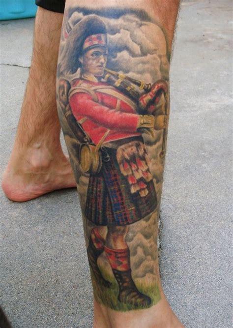 plaid tattoo designs scottish piper designs search tattoos