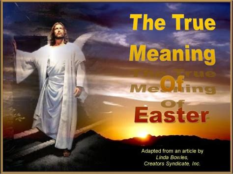 what is the real meaning what is the real meaning of easter cool images