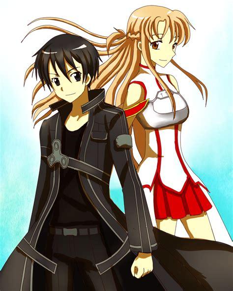 anime like sao sword art online kirito asuna kinda cute anime
