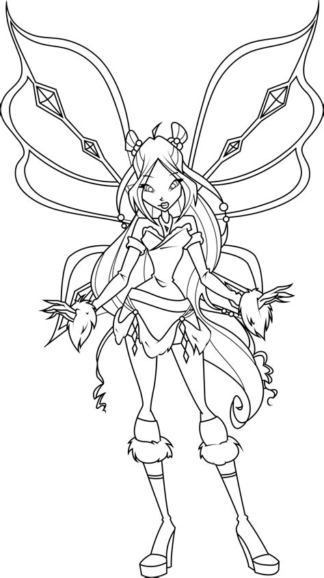 Flora Lovix Coloring Page By Icantunloveyou On Deviantart Winx Club Coloring Pages Flora