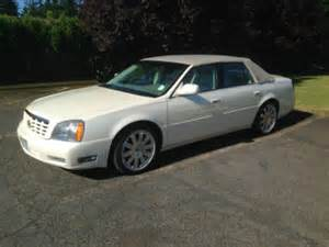Cadillac Soft Top Cadillac Dts White Oregon With Pictures Mitula Cars