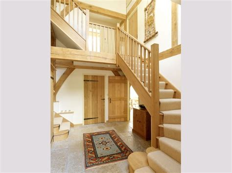 oakwrights oak frame house staircase images home ideas