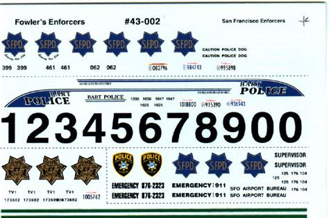 Welly Chevrolet Custom Decal fowlers 1 43 decals 43002 san francisco
