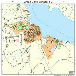 green cove springs florida map 1227400