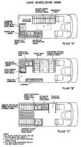 Conversion Van Floor Plans Long Wheel Base Van Conversion Floor Plans