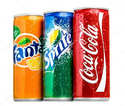 Coca Colaspritefanta Coca Cola Fanta And Sprite Cans Stock Editorial Photo