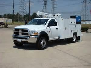 Dodge Service Dodge Ram 5500 Service Mechanic Utility Truck