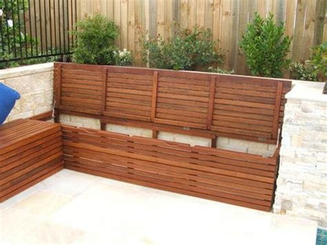deck benches with storage best 20 outdoor storage benches ideas on pinterest