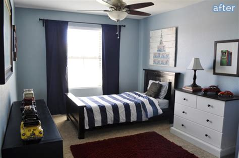 Boys Blue Bedroom by And Blue Boys Room