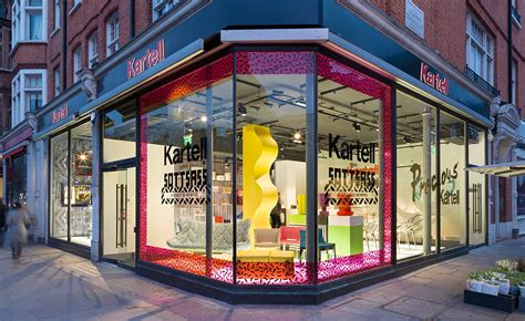 wallpaper design store kartell open brompton road store wallpaper