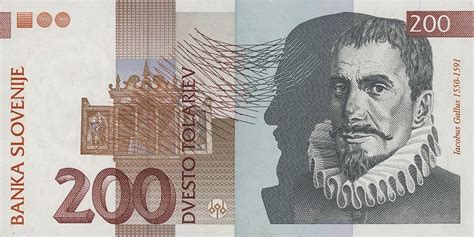 Tolar by Exchange Pre Euro Money From Slovenia Slovenian Tolar