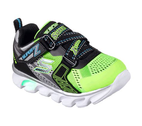 skechers s lights hypno flash boys light up shoes buy skechers s lights hypno flash hook and loop shoes