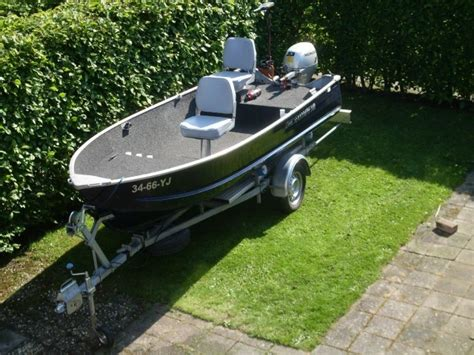 visboten tweedehands complete aluminium visboot trailer motor total fishing