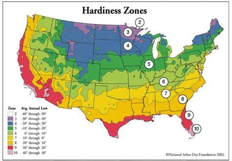 Garden Zones Ohio Hardiness Zone Map Outdoor And Garden Ideas