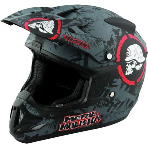 metal mulisha motocross helmet new msr racing velocity metal mulisha scope helmet black