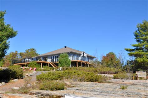 Georgian Bay Cottage Rentals by Cottage 718 For Rent On Georgian Bay Near Parry Sound In