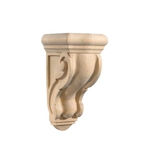 Scroll Corbel Ornamental Mouldings Maple Scroll Counter Support Corbel 5