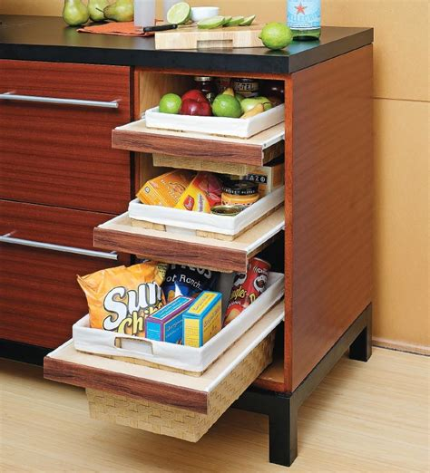 pull out baskets for kitchen cabinets my home my style