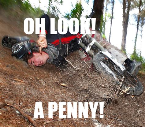 Bike Crash Meme - i guess that means it s his lucky day funny pictures