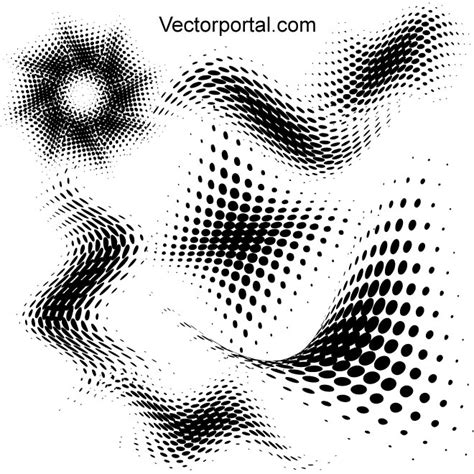 10 distressed vector halftone patterns for illustrator halftone symbols for illustrator download at vectorportal