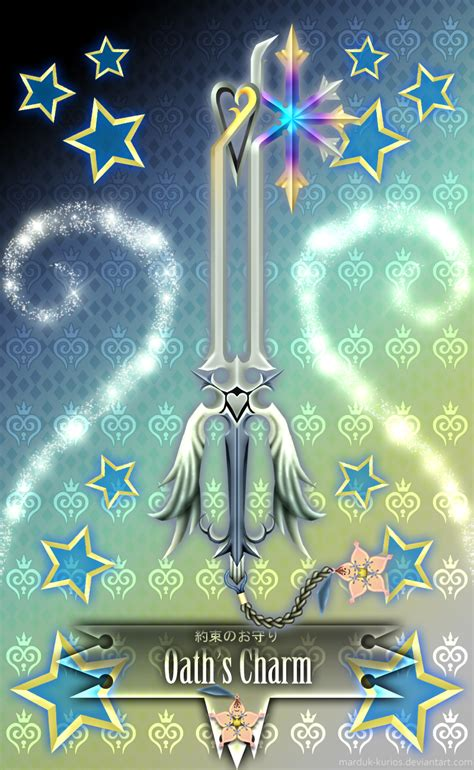 keyblade oath s charm by marduk kurios on deviantart