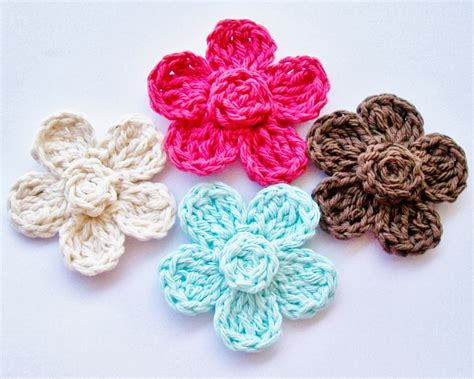 pattern crochet a flower flower girl cottage free crochet flower pattern