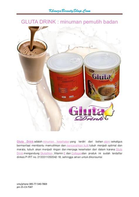 Gluta Drink Pemutih Badan gluta drink