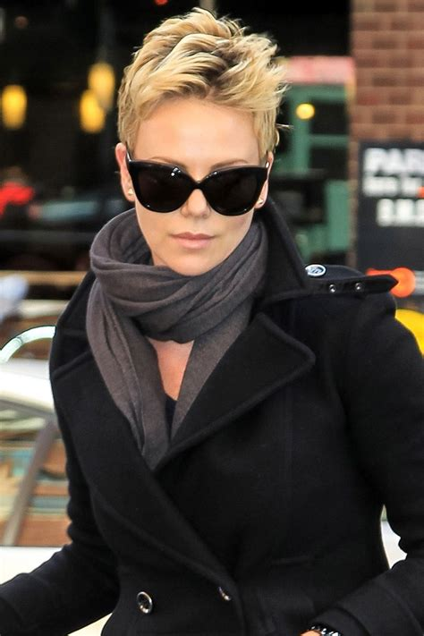 spiked up look actress short hairstyles 2015 trend ideas pixie cut glamour