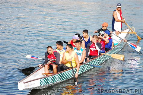 dragon boat national team pdbf holds friendly race for ex national team athletes