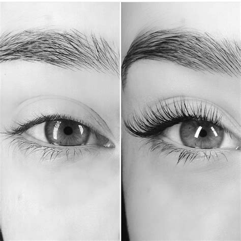 pro eyelashes volume redlashstudio showing lash extension set done